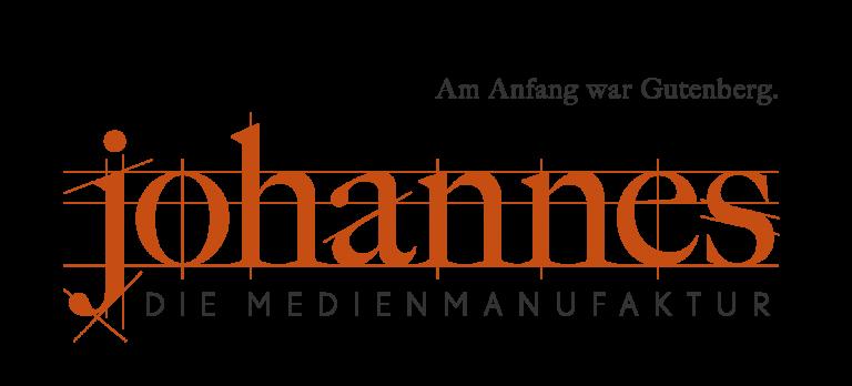 Logo Johannes die Medienmanufaktur Bianca Claußen Grafikdesign Flensburg